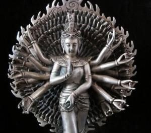 1000-arms Avalokitesvara-kwan-yin Buddha Statue