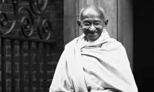 Gandhi at 10 Downing Street