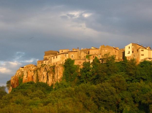 Signora Giuseppa's village in Italy