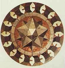 Triangles Marble_floor_mosaic_Basilica_of_St_Mark_Venice Paolo Uccello 1430