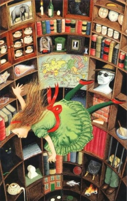 Down the tunnel alice_Anthony Browne