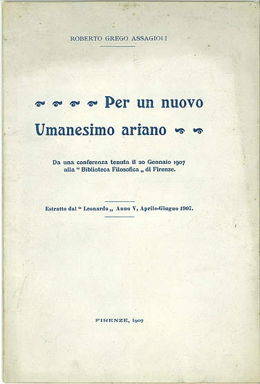 Assagiolis book published by library