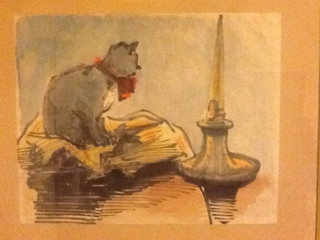 Figure 2 Cat Watercolor CALombard